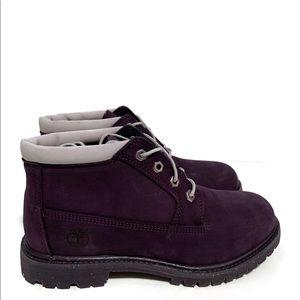 Timberland Nellie Chukka Boot Dark Purple Nubuck